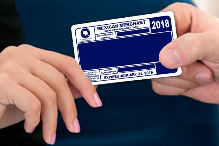 Tarjeta Mexican Merchant
