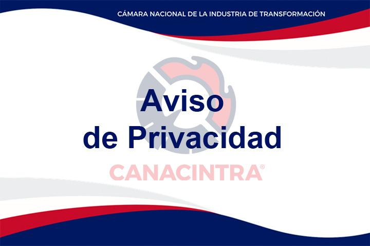 Aviso de Privacidad Canacintra Ensenada