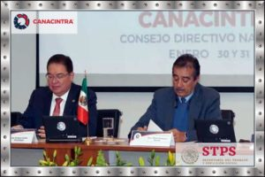 Firma CANACINTRA Acuerdo con STPS