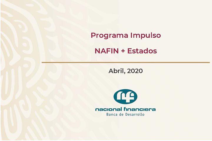Programa Impulso NAFIN  + Estados