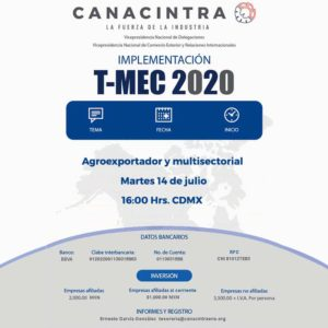 Implementación T-MEC 2020