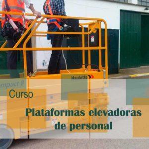 Curso de Plataformas elevadoras de personal @ Instalaciones de la empresa Baja PK