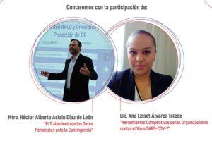 TRATAMIENTO DE DATOS PERSONALES ANTE CONTINGENCIA @ Vía ZOOM