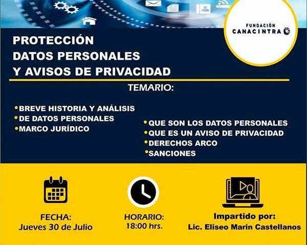 Protección de Datos Personales y Avisos de Privacidad