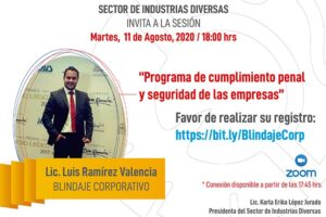Programa cumplimiento penal y seguridad de empresas @ Vía Zoom