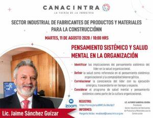 pensamiento sistémico por Jaime Sánchez @ Vía ZOOM