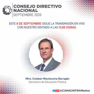 Plática con Esteban Moctezuma Barragán - SEP @ Virtual vía Facebook Live