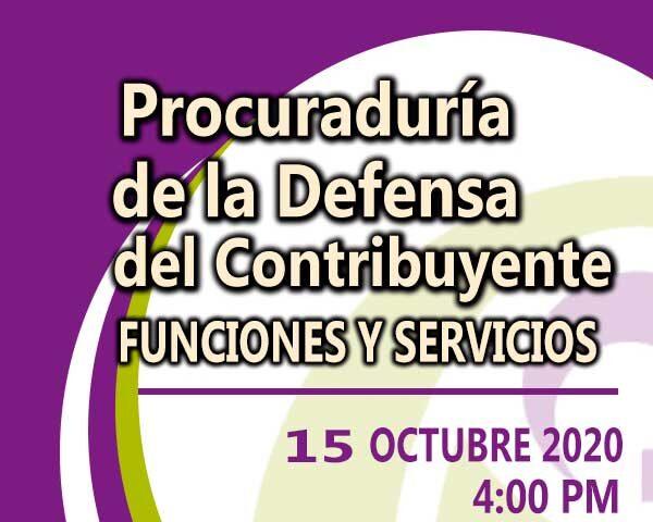 Funciones y servicios PRODECON