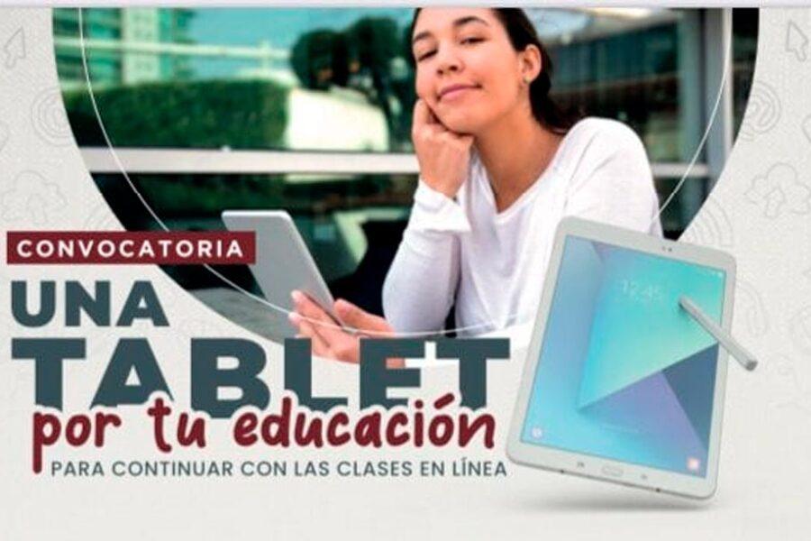 Una tableta por tu educación